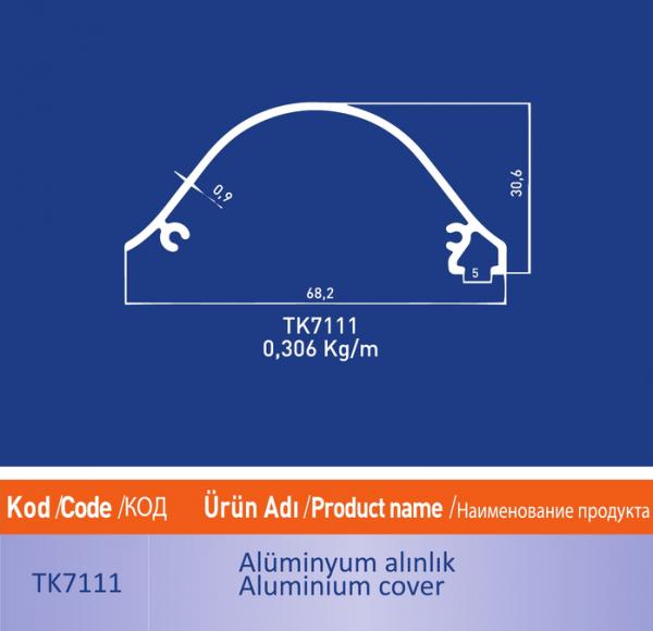 alüminyum alınlık tk7111