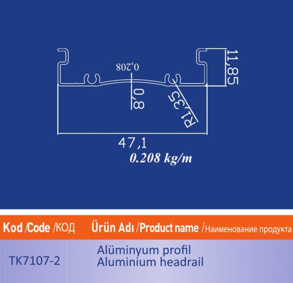 alüminyum profil TK7107 2