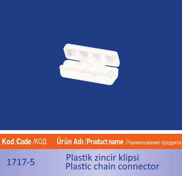 plastik zincir klipsi